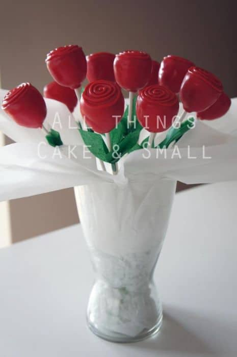 Rose Cake Pop Bouquet