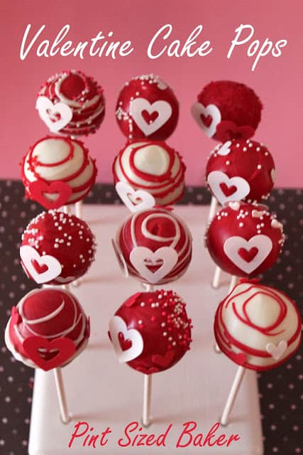 Sugar Sheets Valentines Cake Pops