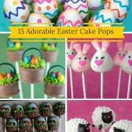 15 Adorable Easter Cake Pops