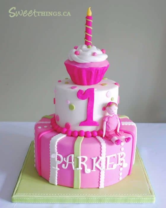 Cake Designs For A 1 Year Old : The Ultimate List of 1st Birthday Cake Ideas - Baking Smarter