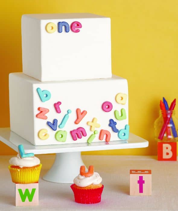 Cake Images With Letter S : The Ultimate List of 1st Birthday Cake Ideas - Baking Smarter