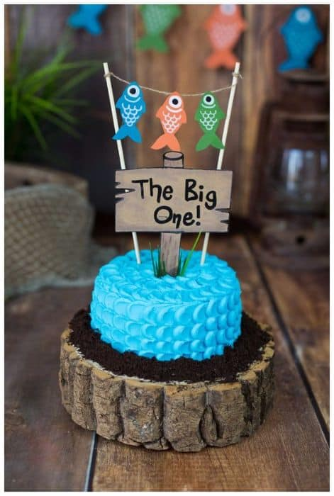 The ultimate list of 1st birthday cake ideas baking smarter for First birthday fishing theme